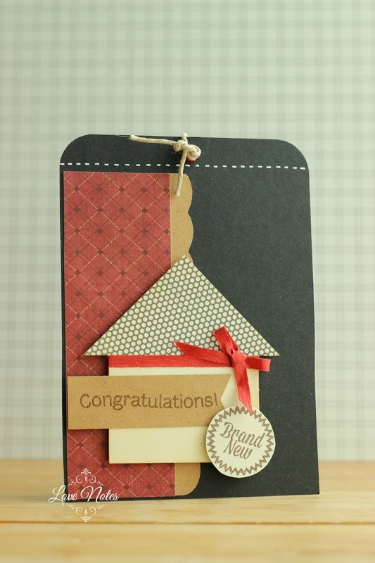 new home card so simple yet so effective cute  new