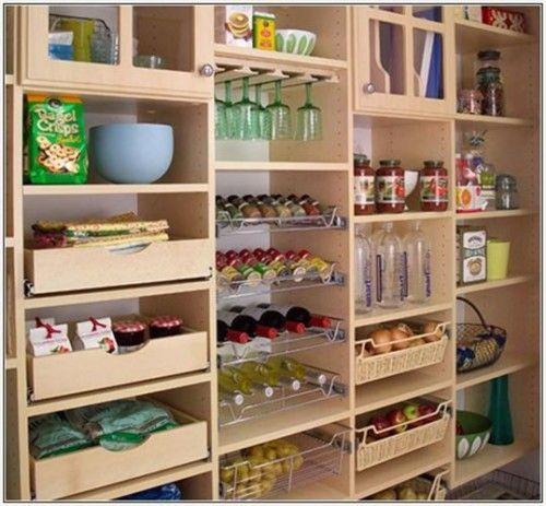 Kitchen pantry cabinet plans Home organization Pinterest