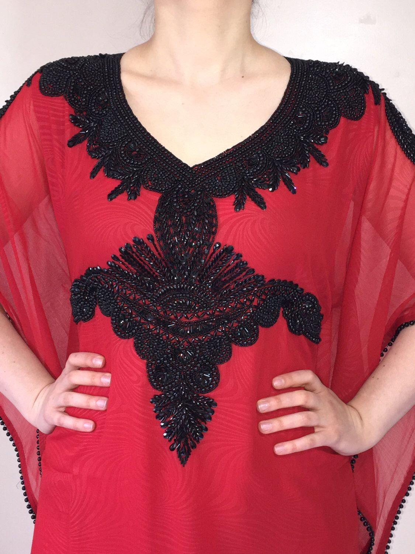 Red Dubai Style kaftan farasha Jalabiya maxi dress abaya by DubaiStyleAbayas on Etsy https://www.etsy.com/uk/listing/238323039/red-dubai-style-kaftan-farasha-jalabiya