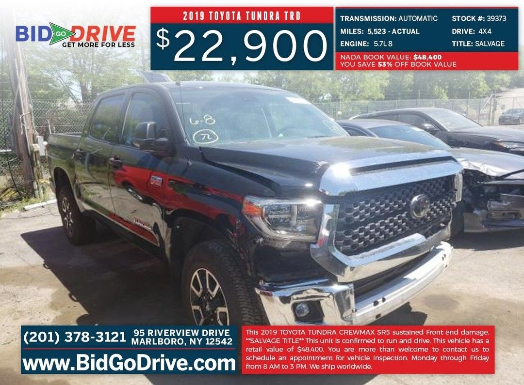 2019 Toyota Tundra Trd Click On The Link For More Information Https Bit Ly 2anhhpv We Ship Worldwide Cars Toyota Tundra Tundra Trd Toyota Tundra Trd