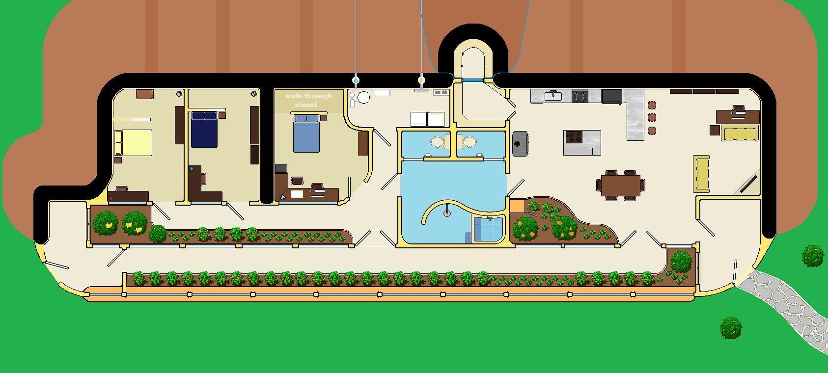 Small Earthship House Plans Archivosweb Com With Images Earthship Home Earthship Plans Earthship Home Plans