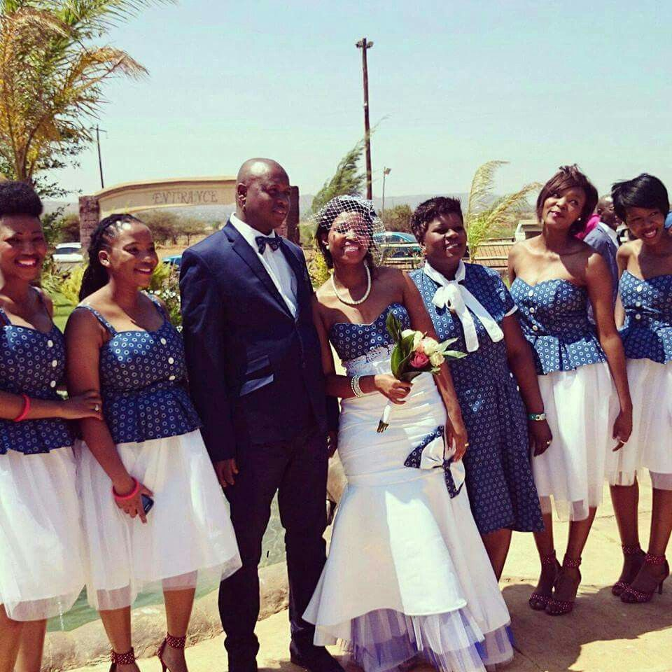 Sotho traditional wedding dresses images best wedding for Typical wedding photos