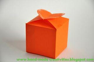 origami gift box templates