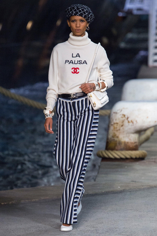 e99cbdb39683 Chanel Resort 2019 Fashion Show Collection  See the complete Chanel Resort  2019 collection. Look 3
