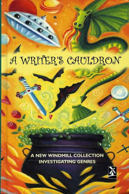 """2002 """"A Writer's Cauldron"""". Heinemann Anthology (includes my story """"Gifts"""")"""
