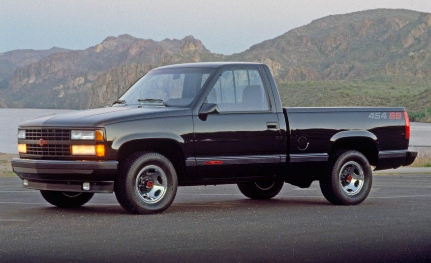 Chevrolet Silverado 454ss An Illustrated History Of The Pickup Truck Camiones Chevy Autos Chevrolet Camionetas