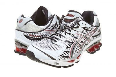 Asics Gel Kinetic 4 Mens T133N 0193 White Lightning Flame