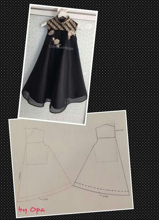 Dress Batik Baju Anak Pakaian Wanita Bunga Pola Gaun