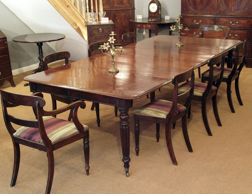 Room · Reclaimed Antique Dining Table ...