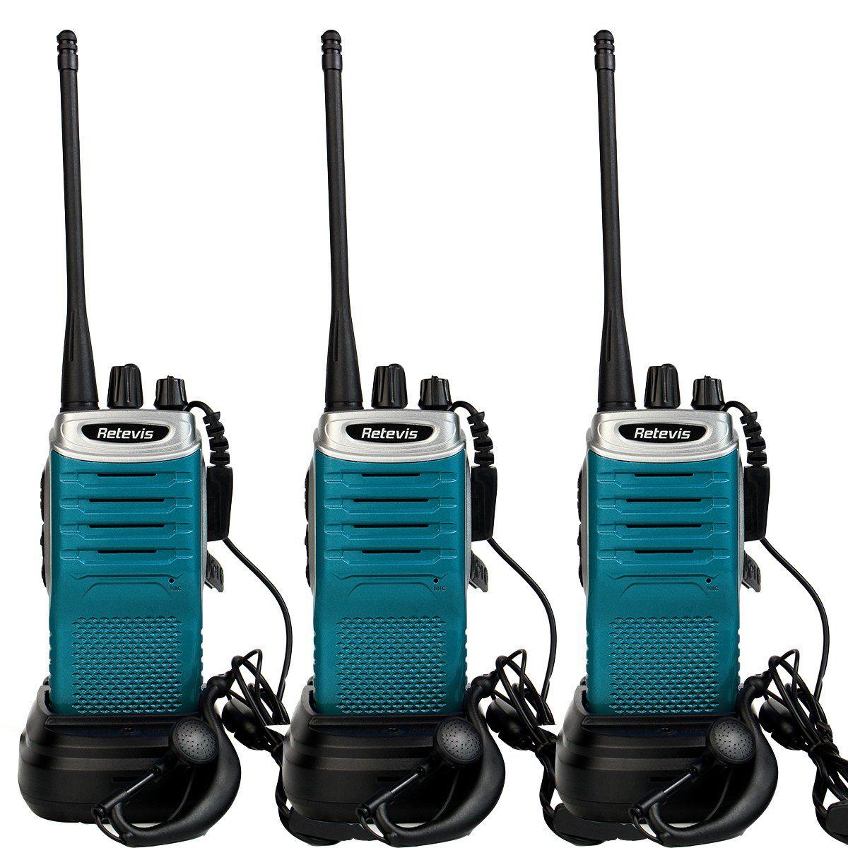 Retevis RT7 2 Way Radio 16 CH UHF 400-470MHz FM Radio VOX Scan