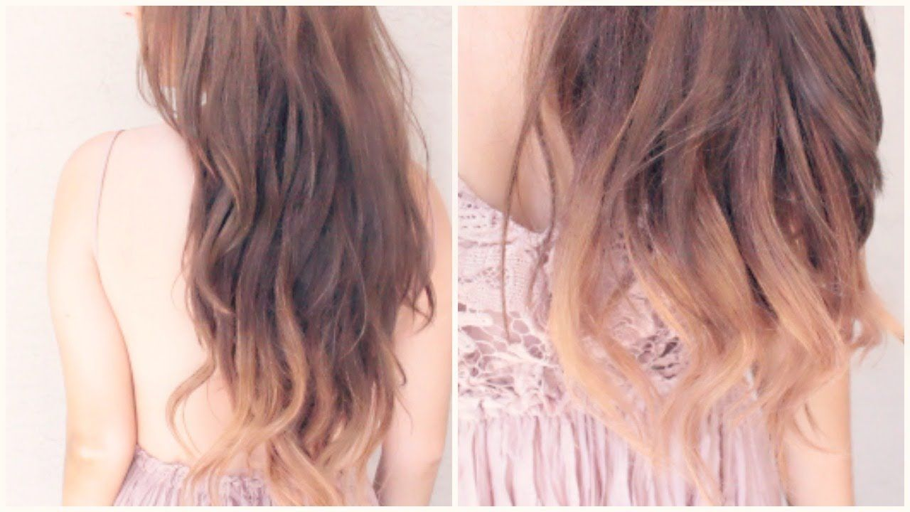Diy ombrè hair without damaging your hair diy pinterest
