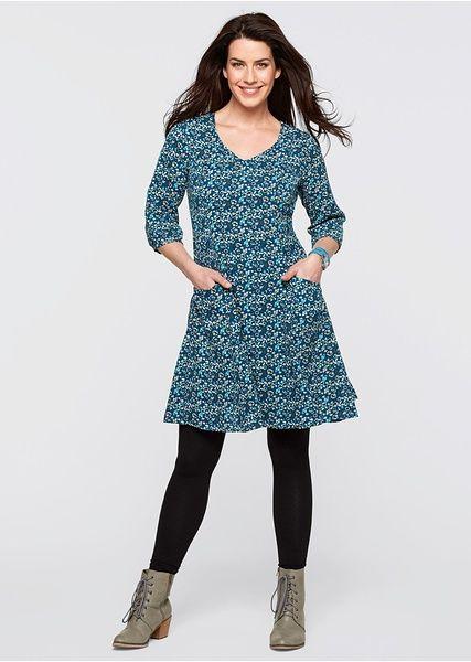 Šaty s 3/4 rukávem S knoflíky na lemech • 779.0 Kč • Bon prix