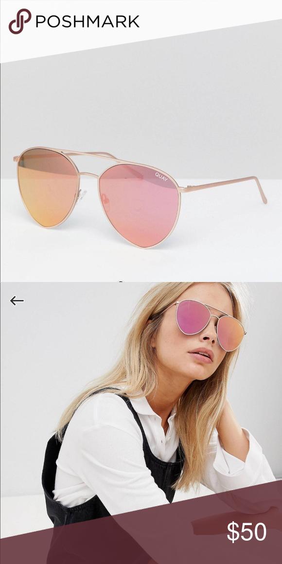 15894c7d83 Quay Australia x Jasmine Sanders Indio Sunglasses Quay Australia x Jasmine  Sanders Indio Sunglasses. Gold Pink. Festival season and summer essential!