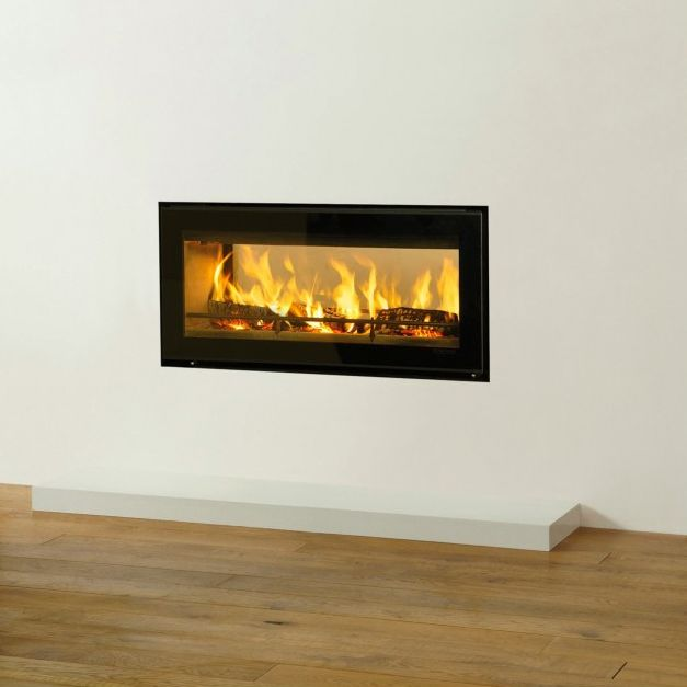 Riva Studio 2 Duplex Wood Burning Double Sided Cassette Stove From