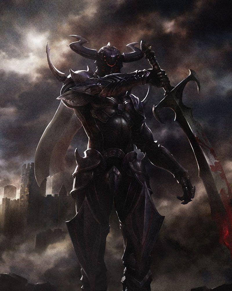 Dark Knight from Mobius Final Fantasy