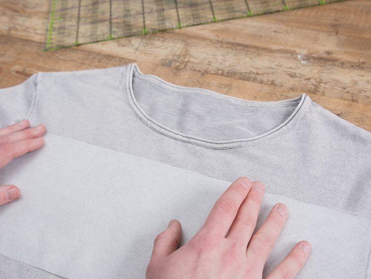 pullover besticken anleitung