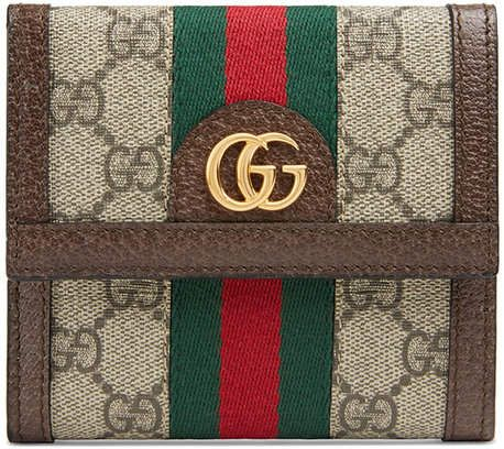 d5c8f4a59b953d Gucci Ophidia GG French Flap Wallet in 2018 | Products | Pinterest ...