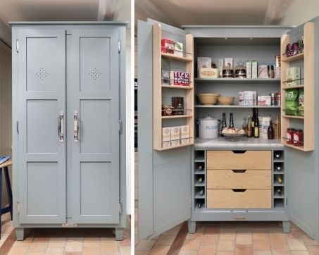 Kitchen Pantry Cupboards Free Standing Storage Cabinets Diy