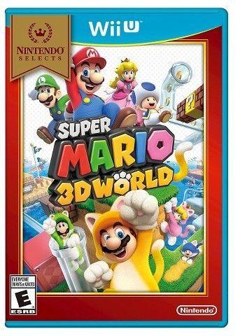Nintendo Selects Super Mario 3d World Nintendo Wii U Wii Super Mario Wii U