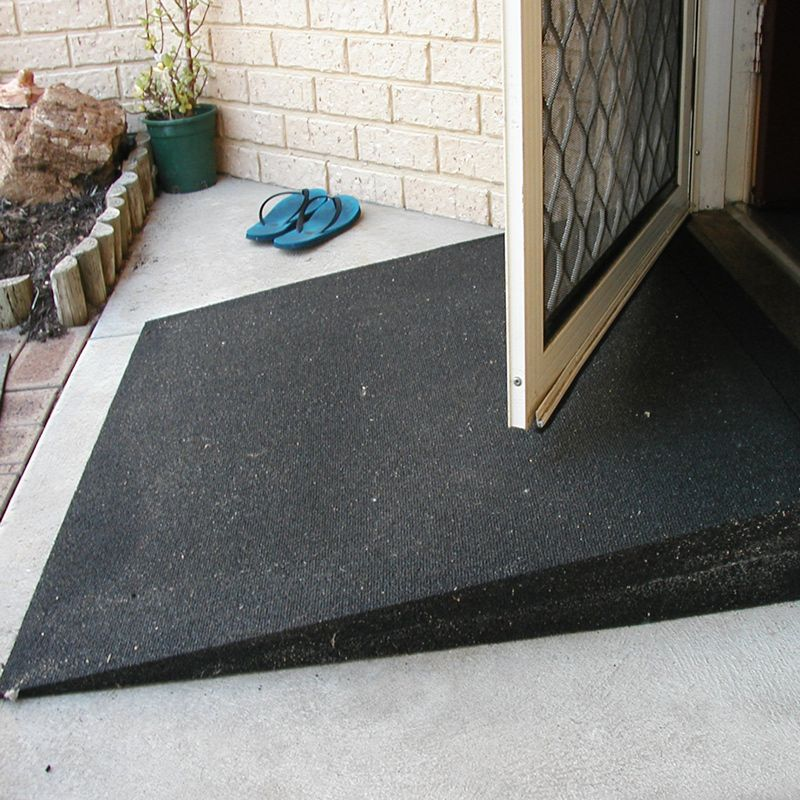 Ac Stock Tyrex Rubber Wedge Wheelchair Ramps For Access