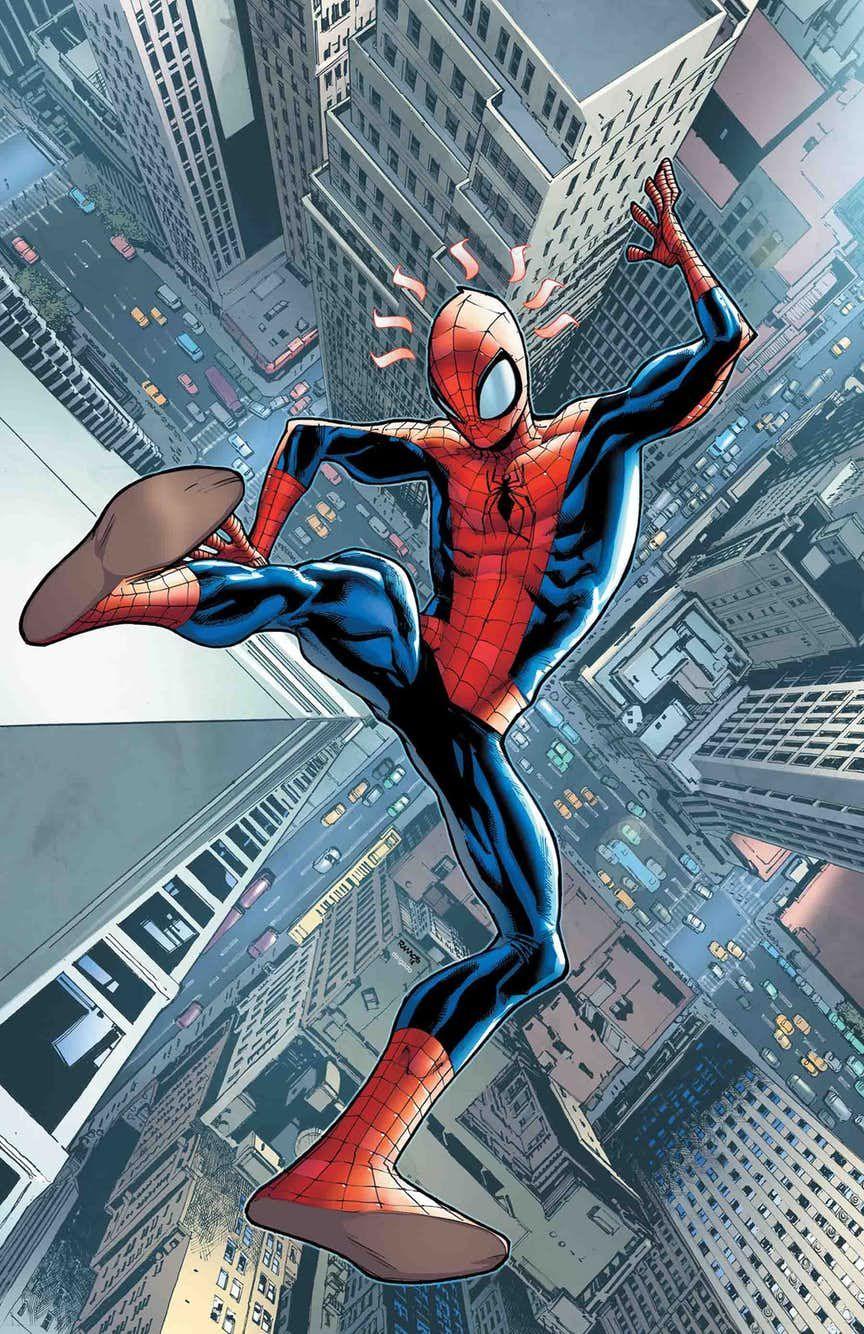 MARVEL COMICS//2018 AMAZING SPIDER-MAN #8 HUMBERTO RAMOS ART /& MAIN COVER