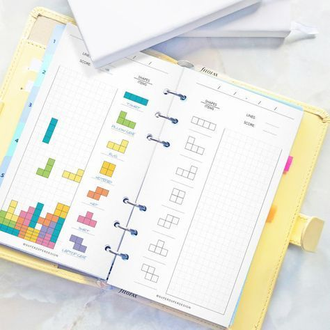 sales tetris sales tracker business form personal size