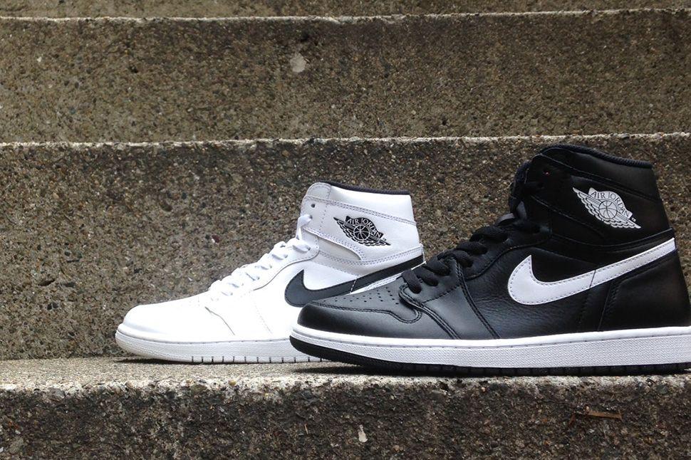 low priced 27c56 1115b Dropping in Japan  Air Jordan 1 Retro High OG in Black   White - EU Kicks   Sneaker Magazine