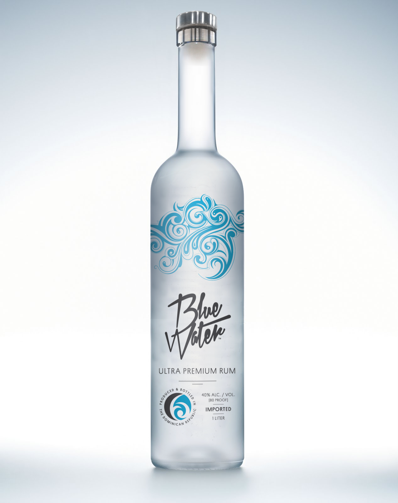 Blue Water Ultra Premium Rum Probably The Best Rum In The World Try It On The Rocks Before You Mix It With Well Anyth Cocktails To Try Rum Vodka Bottle