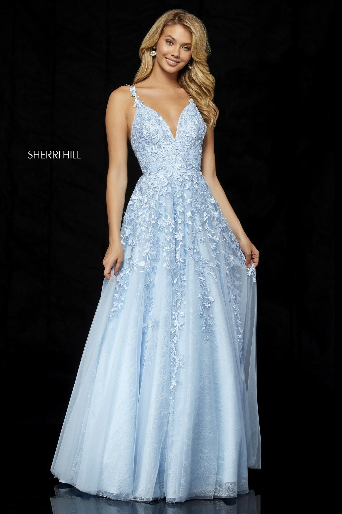 6c81e3c17c7e Buy Sherri Hill 52342 Tulle Homecoming Dress today at MadameBridal.com  authorized retailer store. With every order get your free.