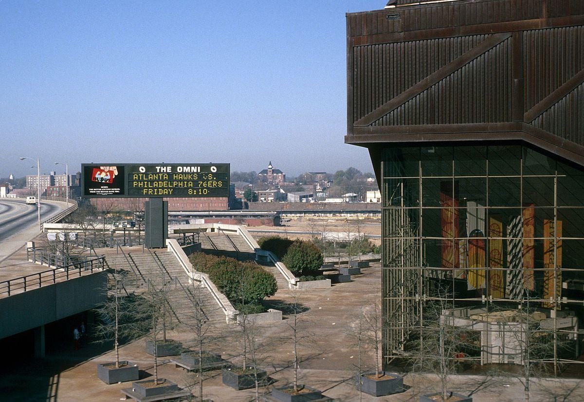 Omni Coliseum Wikipedia in 2020 Atlanta, Brutalist