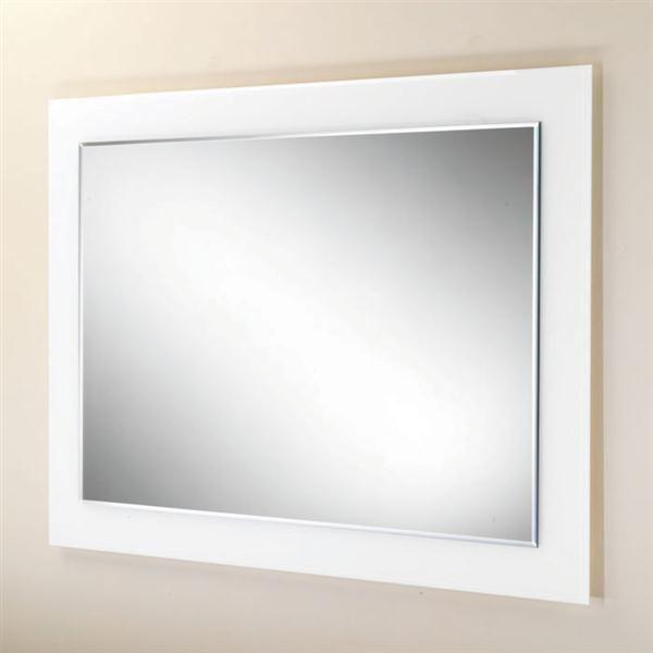 White Framed Bathroom Mirror Ideas   Bathroom Mirrors   Pinterest ...