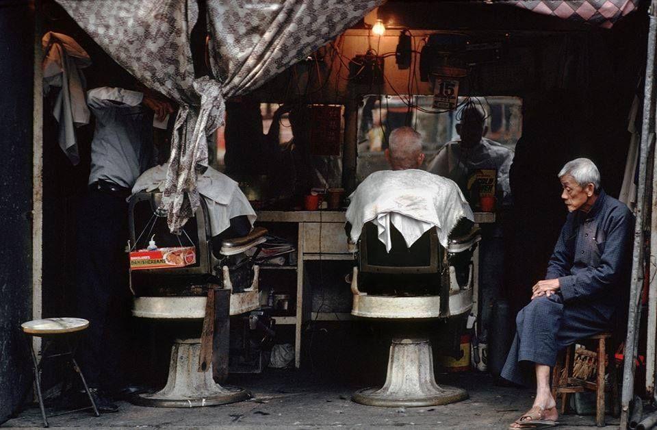 Aberdeen barber's shop Aberdeen hong kong, Hong kong