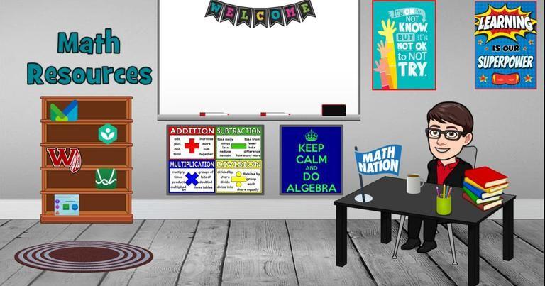 Here S How To Create A Bitmoji Classroom For Distance Learning Classroom Classroom Themes Learning Math