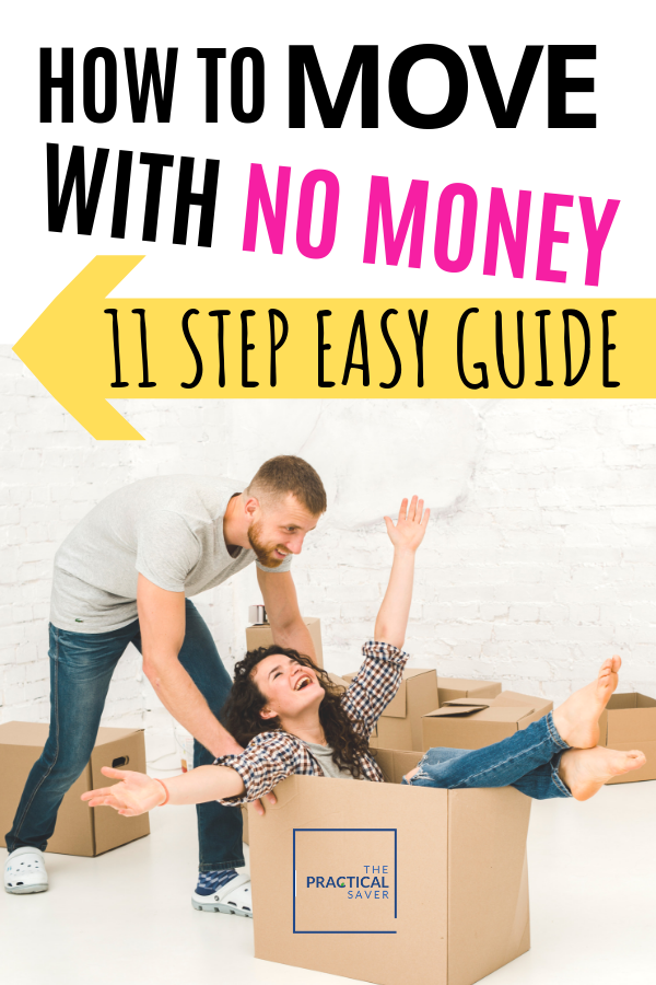 How To Move With No Money 12 Steps Easy Guide Moving To Another State Money Management Budgeting