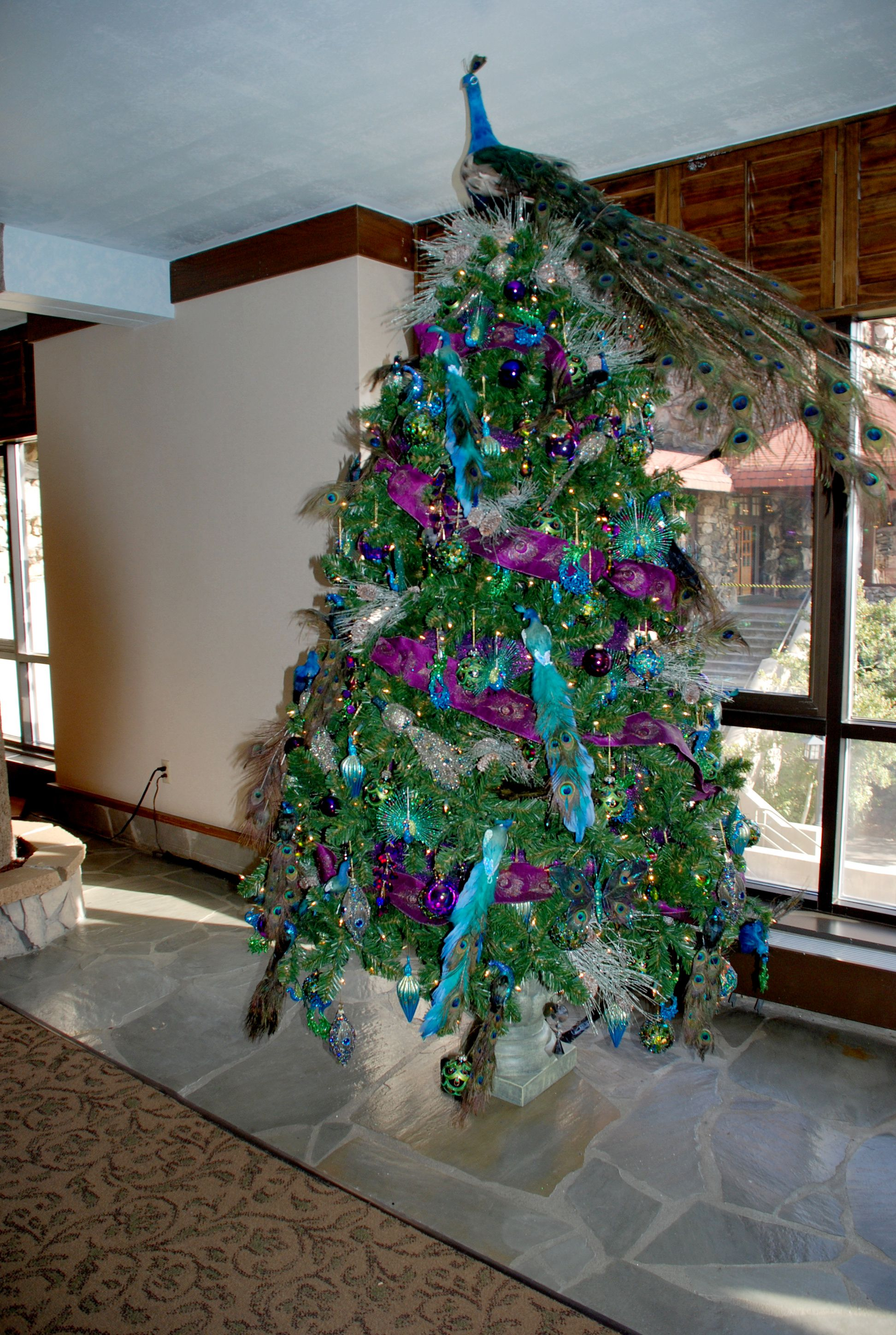 designer decorated christmas trees | more unusual trees this year