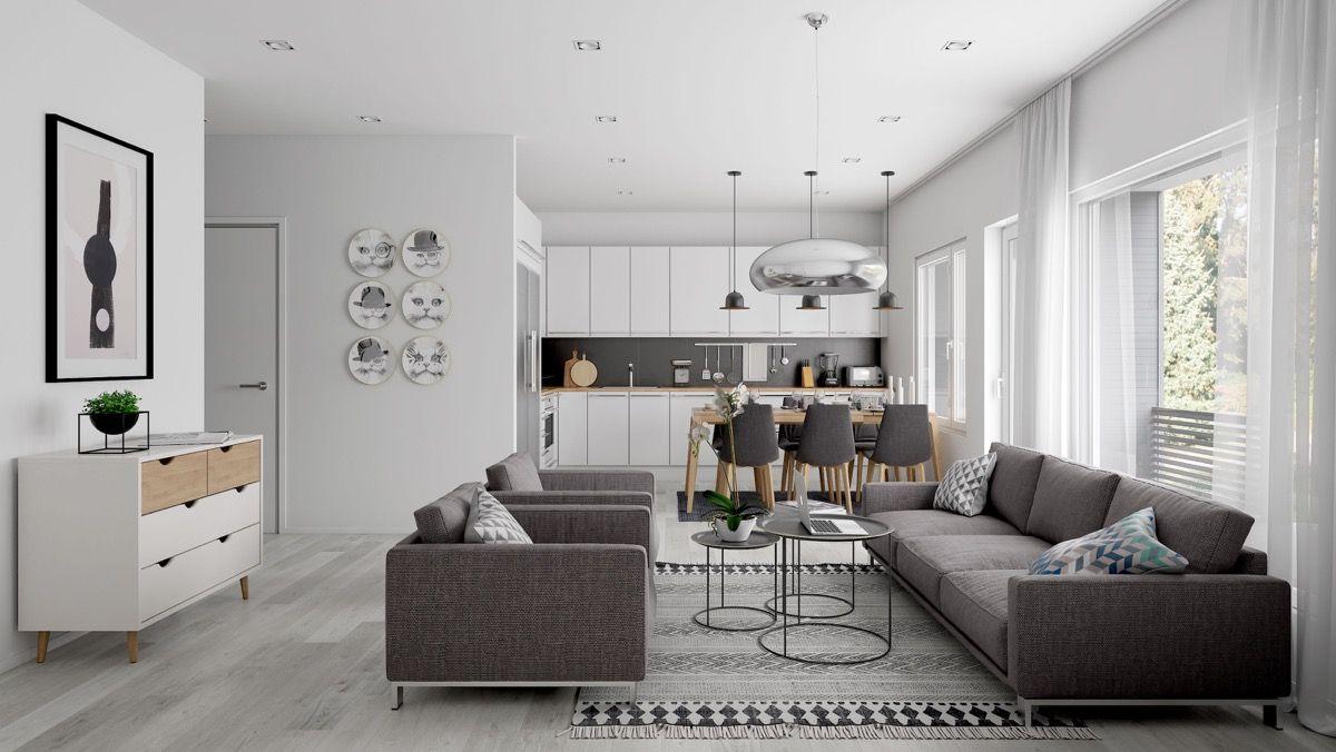 Open Plan Interior Design Inspiration Open Concept Living Room Interior Design Living Room Designs