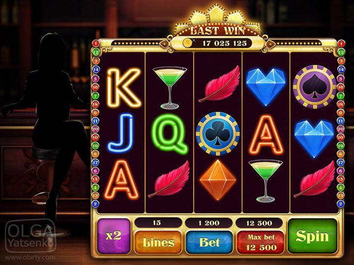 Slot Game Hot Reels On Behance Prizraki Znaki