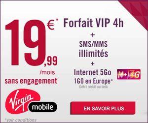 Virgin Mobile Forfaits Vip En H Avec 5 1 Go De Data Et La 4g