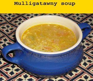 Mulligatawny soup, British recipe