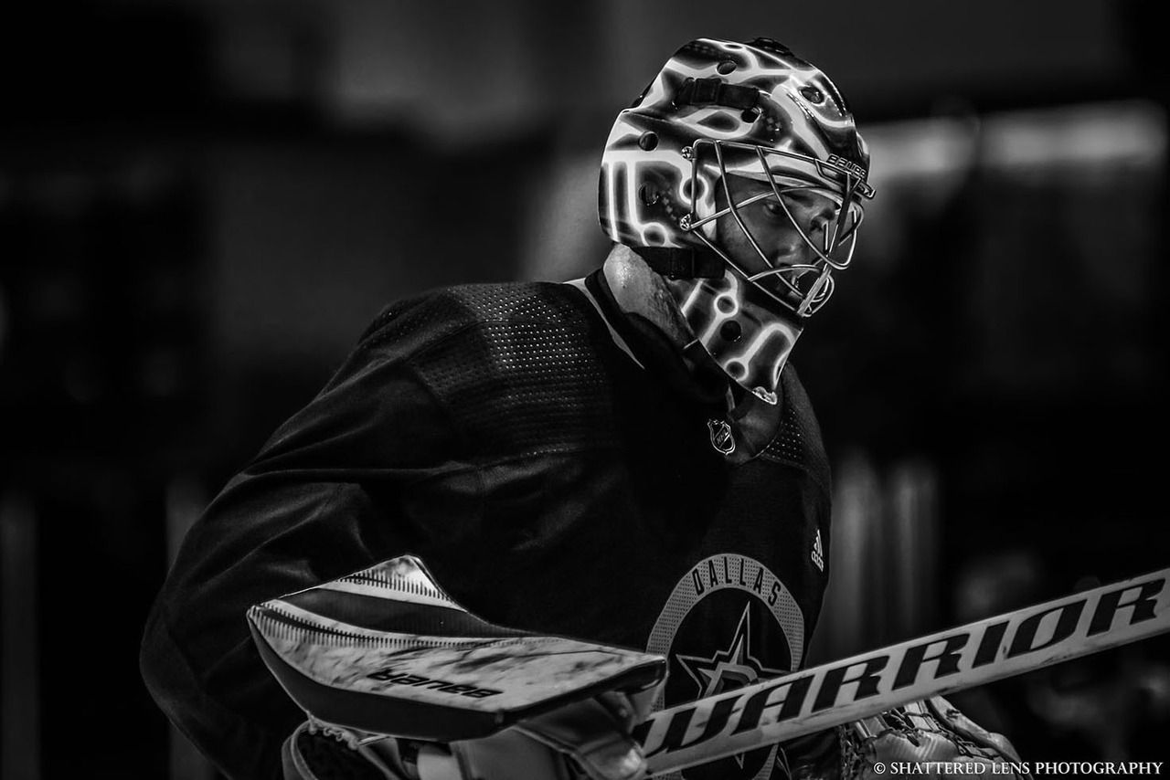 Shattered-lens-photography: Ben Bishop || Dallas Stars Training Camp 2018 - #a #amanda #ben #bishop #dallas #doing #friendly #is #lords #reminder #star #stars #the #work