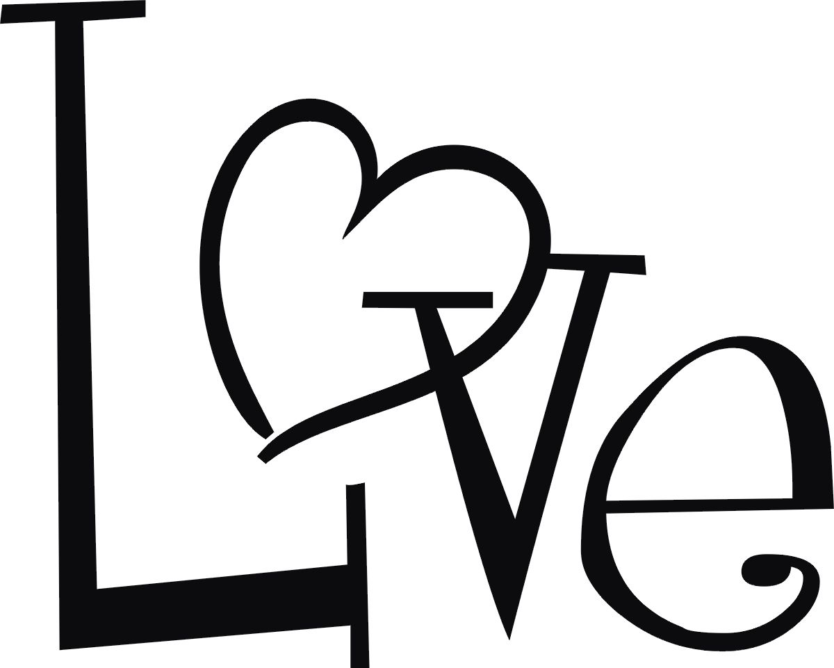 Simple love heart drawing clipart best crafts for Simple drawings for love