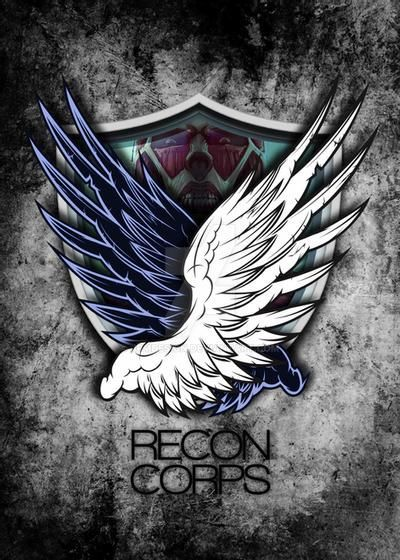 Attack on titan Recon Corps by jpmdesign on DeviantArt