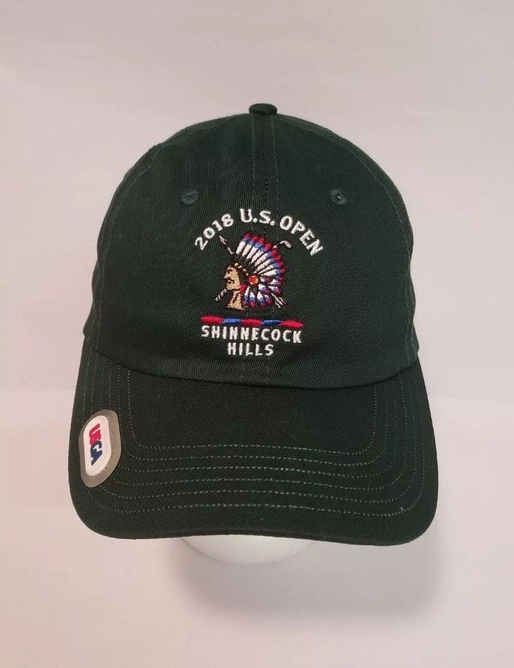b6f4ce31d26 2018 US Open Shinnecock Hills USGA Golf Green Cap Hat New  USGA  GolfCap