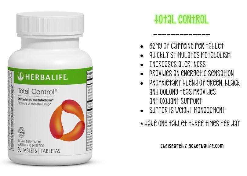 Productos herbalife para adelgazar total control
