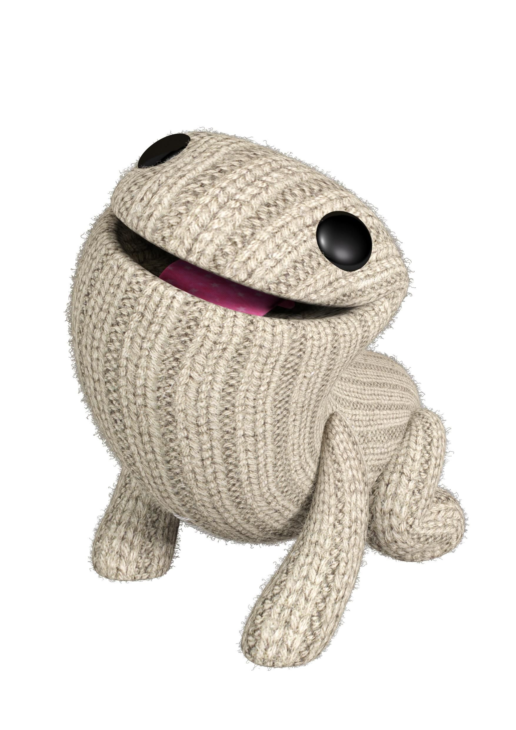 Aww! Look at adorable Oddsock in LBP3!!! My Oddsock is dressed like ...
