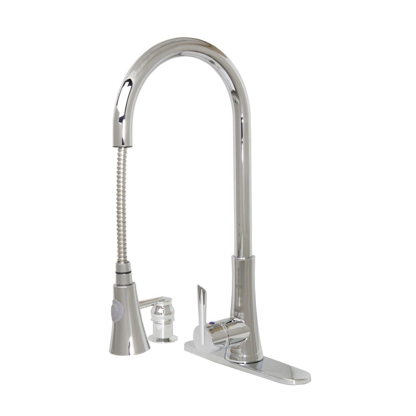 Shop Dyconn Faucets Dyconn Tb001 A18 Modern Kitchen Faucet At Atg