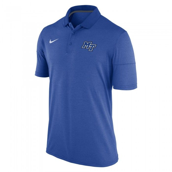 Head To The Games In Style In This Crisp Nike Dry Polo Features High Quality Mt Logo Heat Sealed On The Left Chest Go B Nike Polo Nike Men Performance Polos