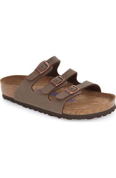 a9d931f0f Birkenstock 'Florida Birkibuc' Soft Footbed Sandal (Women) available at  #Nordstrom