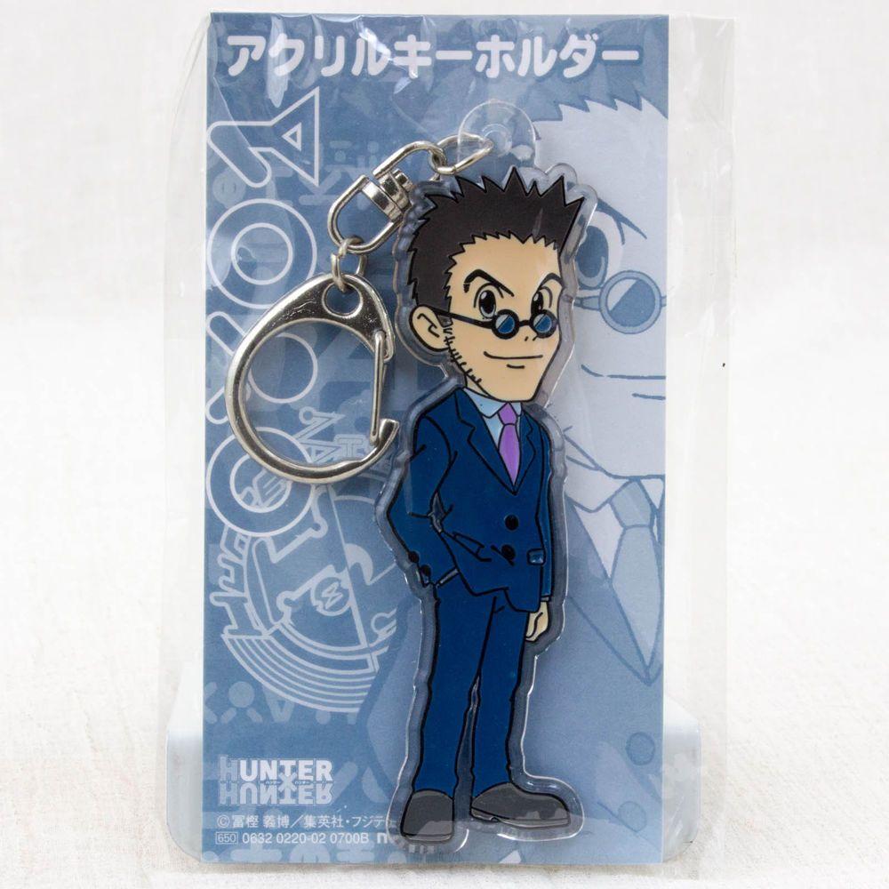 RARE! Hunter × Hunter Leorio Acrylic Mascot Keychain JAPAN ANIME MANGA