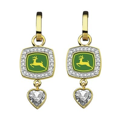 John Deere Earrings | Comically Ugly Jewelry | Pinterest ...